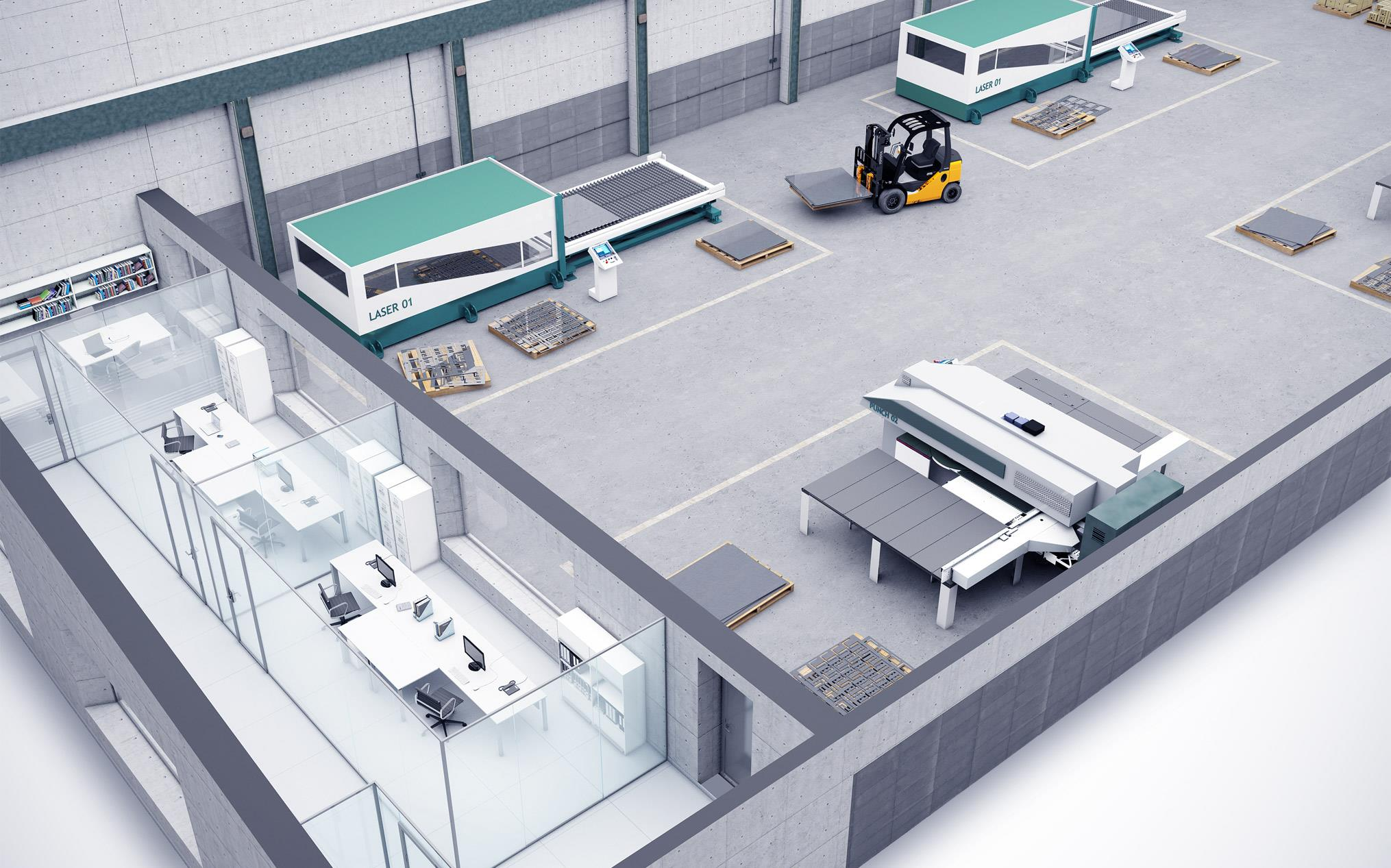 Loading Dock Floor Plan Lantek Sheet Metal Solutions